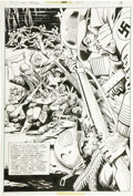Original Comic Art:Splash Pages, Joe Kubert and Romeo Tanghal - Sgt. Rock #306, page 5 Original Art (DC, 1977)....