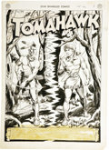 Original Comic Art:Splash Pages, Fred Ray - Star Spangled Comics #107, Tomahawk Splash Page 1Original Art (DC, 1950)....