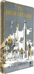 Books:Fiction, Poul Anderson: The High Crusade....