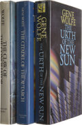 Books:Signed Editions, Gene Wolfe: Three Signed Books.... (Total: 3 Items)