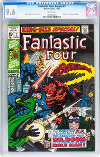 Fantastic Four Annual #7 (Marvel, 1969) CGC NM+ 9.6 White pages