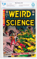 Golden Age (1938-1955):Science Fiction, Weird Science #22 (EC, 1953) CBCS FN/VF 7.0 White pages....