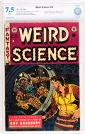 Golden Age (1938-1955):Science Fiction, Weird Science #19 (EC, 1953) CBCS VF- 7.5 White pages....