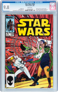 Modern Age (1980-Present):Science Fiction, Star Wars #104 (Marvel, 1986) CGC NM/MT 9.8 White pages....