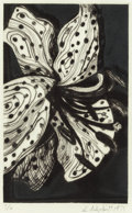 Fine Art - Painting, American:Modern  (1900 1949)  , LOWELL NESBITT (American, 1933-1993). Flowers (five works),1975. Etching. 6 x 5-5/8 inches (15.2 x 14.3 cm) (plate, eac...(Total: 5 Items)