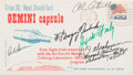 Explorers:Space Exploration, Air Force's Manned Orbiting Laboratory Program Launch Cover Signedby Five Astronauts....
