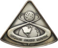Explorers:Space Exploration, Apollo 8 Flown Silver Robbins Medallion, Serial Number 290,Originally from the Personal Collection of Astronaut Gene Cernan,...