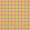 Fine Art - Painting, American:Contemporary   (1950 to present)  , MARIO YRISARRY (American, b. 1933). Mondrian Twin, 1969.Acrylic on canvas. 36-1/8 x 36-1/8 inches (91.8 x 91.8 cm). Sig...