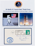 Explorers:Space Exploration, Apollo 14 Edgar Mitchell-Signed Launch Cover Originally from HisPersonal Collection, Signed and Certified. ...