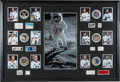 Autographs:Celebrities, Apollo Moonwalkers: Signatures of All Twelve with Individual WhiteSpacesuit Color Photos and Mission Patches in a Magnificent...