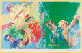 Golf Collectibles:Art, 1973 Leroy Neiman Signed Golf Champions Lithograph #329/500....