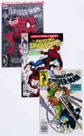 Modern Age (1980-Present):Superhero, The Amazing Spider-Man Group (Marvel, 1982-2013) Condition: AverageVF/NM.... (Total: 69 Comic Books)