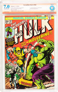 Bronze Age (1970-1979):Superhero, The Incredible Hulk #181 Verified Signature Series (Marvel, 1974)CBCS FN/VG 7.0 Off-white to white pages....