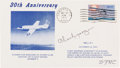Autographs:Military Figures, Chuck Yeager Signed Thirtieth Anniversary of Supersonic Flight Cover. ...