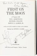 Autographs:Celebrities, Apollo 11 Crew-Signed Book: First on the Moon. ...