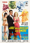 "Movie Posters:James Bond, From Russia with Love (United Artists, 1964). Italian 2 - Foglio(39.5"" X 55.25"").. ..."