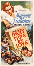 "Movie Posters:Romance, Next Time We Love (Universal, 1936). Three Sheet (41"" X 79.5"")....."