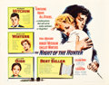 """Movie Posters:Film Noir, The Night of the Hunter (United Artists, 1955). Half Sheet (22"""" X 28"""") Style B.. ..."""