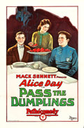 "Movie Posters:Comedy, Pass the Dumplings (Pathé, 1927). One Sheet (27"" X 41"").. ..."
