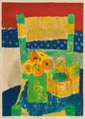 Prints, GUY BARDONE (French, b. 1927). Untitled, 1971. Lithograph in colors. 26-1/4 x 19 inches (66.7 x 48.3 cm). Ed. 150/200. S...