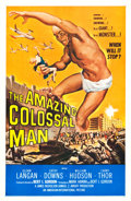 """Movie Posters:Science Fiction, The Amazing Colossal Man (American International, 1957). One Sheet (26.75"""" X 41.5""""). Science Fiction.. ..."""
