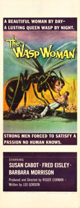 "Movie Posters:Science Fiction, The Wasp Woman (Film Group, 1959). Insert (14"" X 36"").. ..."