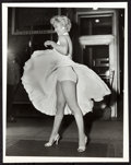 """Movie Posters:Miscellaneous, Marilyn Monroe in The Seven Year Itch by Sam Shaw (20th CenturyFox, 1955). Photo (7"""" X 9"""").. ..."""