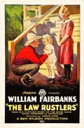"""Movie Posters:Western, The Law Rustlers (Arrow Film, 1923). One Sheet (27"""" X 41"""").. ..."""