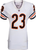 Football Collectibles:Uniforms, 2009 Devin Hester Game Worn, Unwashed Chicago Bears Jersey - Worn 9/27....