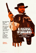 "Movie Posters:Western, A Fistful of Dollars (United Artists, 1967). One Sheet (27"" X 41"")Advance Style A.. ..."