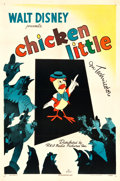 "Movie Posters:Animation, Chicken Little (RKO, 1943). One Sheet (27"" X 41"").. ..."
