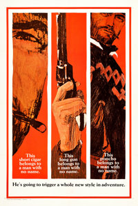 "A Fistful of Dollars (United Artists, 1967). One Sheet (27.5"" X 41"") Advance Style B"