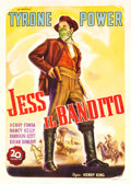 "Movie Posters:Western, Jesse James (20th Century Fox, 1949). First Post-War ReleaseItalian 4 - Foglio (55"" X 78"").. ..."