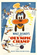 "Movie Posters:Animated, The Olympic Champ (RKO, 1942). One Sheet (27.5"" X 41"").. ..."