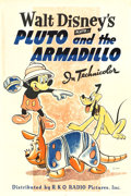 "Movie Posters:Animation, Pluto and the Armadillo (RKO, 1943). One Sheet (27"" X 41"").. ..."