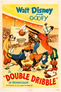 "Movie Posters:Animated, Double Dribble (RKO, 1946). One Sheet (27"" X 41"").. ..."