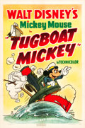 "Movie Posters:Animation, Tugboat Mickey (RKO, 1940). One Sheet (27"" X 41"").. ..."