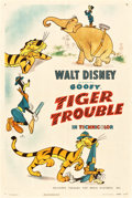 "Movie Posters:Animated, Tiger Trouble (RKO, 1945). One Sheet (27.25"" X 41"").. ..."