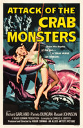 "Movie Posters:Science Fiction, Attack of the Crab Monsters (Allied Artists, 1957). One Sheet (27""X 41.25"").. ..."