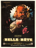 "Movie Posters:Fantasy, La Belle et la Bete (DisCina, 1946). French Affiche (23.5"" X 31"")....."