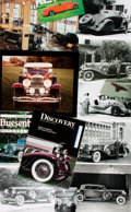Books:Prints & Leaves, [Automobiles/Dusenberg]. Small Archive of Material Relating toDusenberg Automobiles. May include photographic reproductions...