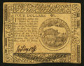Colonial Notes:Continental Congress Issues, Continental Currency May 10, 1775 $4 Extremely Fine.. ...