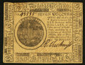 Colonial Notes:Continental Congress Issues, Continental Currency May 10, 1775 $7 Extremely Fine.. ...