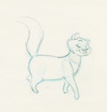 Animation Art:Production Drawing, The Aristocats Duchess Animation Drawing (Walt Disney,1970). ...