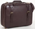 "Luxury Accessories:Travel/Trunks, Louis Vuitton Mahogany Taiga Leather Satellite 50 Travel Bag. Good Condition. 20"" Width x 15"" Height x 6"" Depth, 18"" A..."
