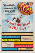 "Movie Posters:Adventure, Around the World in 80 Days (United Artists, 1956). One Sheet &Spanish Language One Sheet (27"" X 41""). Adventure.. ... (Total: 2Items)"