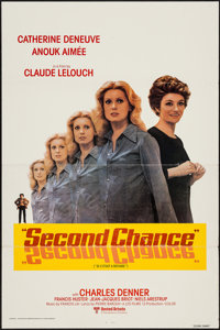 "Second Chance & Other Lot (United Artists Classic, 1981). One Sheets (2) (27"" X 41"") Flat Folded. Foreign..."