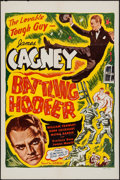 "Movie Posters:Musical, Something to Sing About (Screencraft, R-1947). One Sheet (27"" X 41"") Reissue Title: Battling Hoofer. Musical.. ..."
