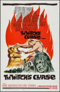 """Movie Posters:Fantasy, The Witch's Curse (Medallion, 1963). One Sheet (27"""" X 41""""). Fantasy.. ..."""