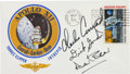 "Explorers:Space Exploration, Apollo 12 Crew-Signed ""Type One"" Insurance Cover Originally from the Personal Collection of Mission Commander Charles Conrad, ..."